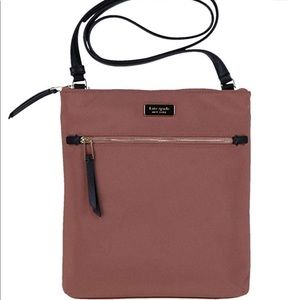Kate Spade Dawn Flat Nylon Crossbody Sparrow